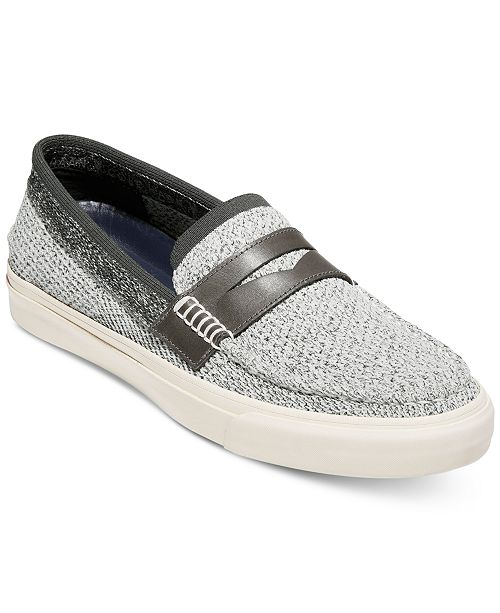 226cfe5be16 Cole Haan Men s Pinch Weekender LX StitchLite Slip-On Loafers - All ...