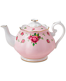 Royal Albert Pink Vintage Teapot
