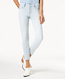Body Sculpt by Celebrity Pink Juniors' Super Slimmer Slim Your Thigh Ankle Jeans