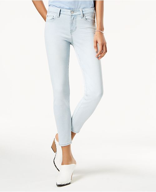 Celebrity Pink Juniors' Super Slimmer Slim Your Thigh Ankle Jeans