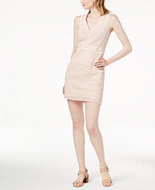 French Connection Schiffley Cotton Lace Sheath Dress