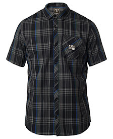 Fox Men's Rowher Plaid Poplin Work Shirt