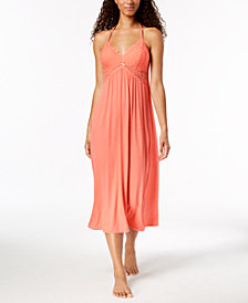 Thalia Sodi Lace T-Back Nightgown, Created for Macy's