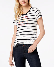 Tommy Hilfiger American Dreamer Striped T-Shirt, Created for Macy's