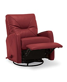 Finchley Leather Swivel Glider Recliner