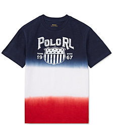 Polo Ralph Lauren Big Boys Dip-Dyed Cotton Jersey T-Shirt