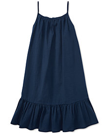 Polo Ralph Lauren Big Girls Cotton Seersucker Dress