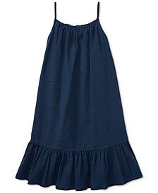 Polo Ralph Lauren Big Girls Cotton Seersucker Dress