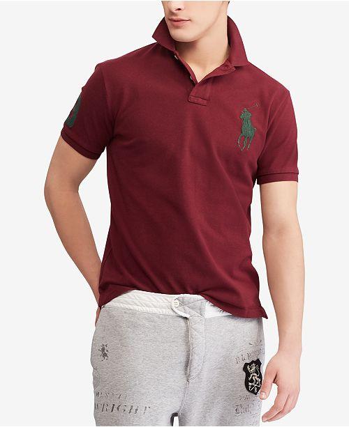 Men's Custom Slim Fit Cotton Polo
