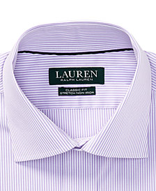 Lauren Ralph Lauren Men's Classic Fit Striped Dress Shirt