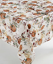 "Bardwil Autumn Meadow 60"" x 84"" Tablecloth"