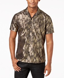 I.N.C. Men's Lurex Shirt, Created for Macy's