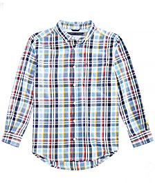 Tommy Hilfiger Little Boys Albert Plaid Cotton Shirt