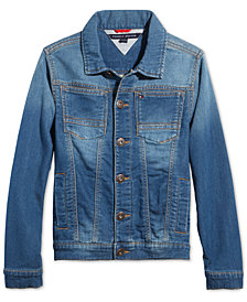 Tommy Hilfiger Little Boys Dean Knit Denim Jacket