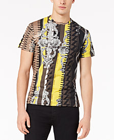 Versace Men's Baroque Geo-Print T-Shirt