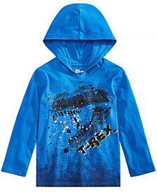 Epic Threads Toddler Boys Graphic-Print Hooded T-Shirt, Created for Macy's