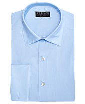 f4f673e7 AlfaTech by Alfani Men's Solid French Cuff Slim-Fit Dress Shirt, Created  For Macy's