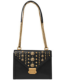 MICHAEL Michael Kors Studded Whitney Shoulder Bag