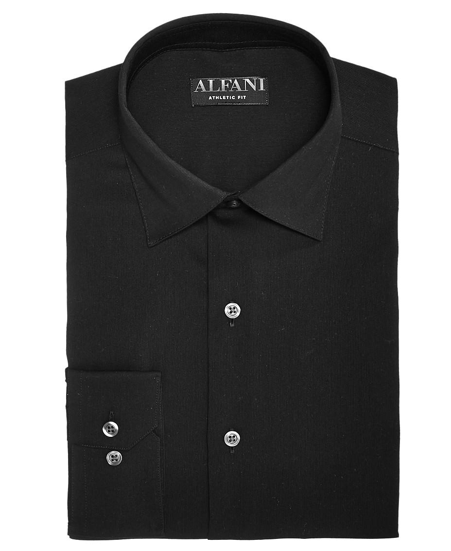 2eabae589 AlfaTech by Alfani Men's Big & Tall Bedford Cord Dress Shirt, Created For  Macy's