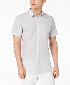 Calvin Klein Men's Spiral Floral-Print Shirt