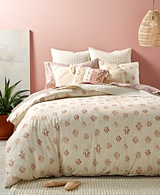 CLOSEOUT! Joshua Tree 3-Pc. Full/Queen Duvet Cover Set, Created for Macy's