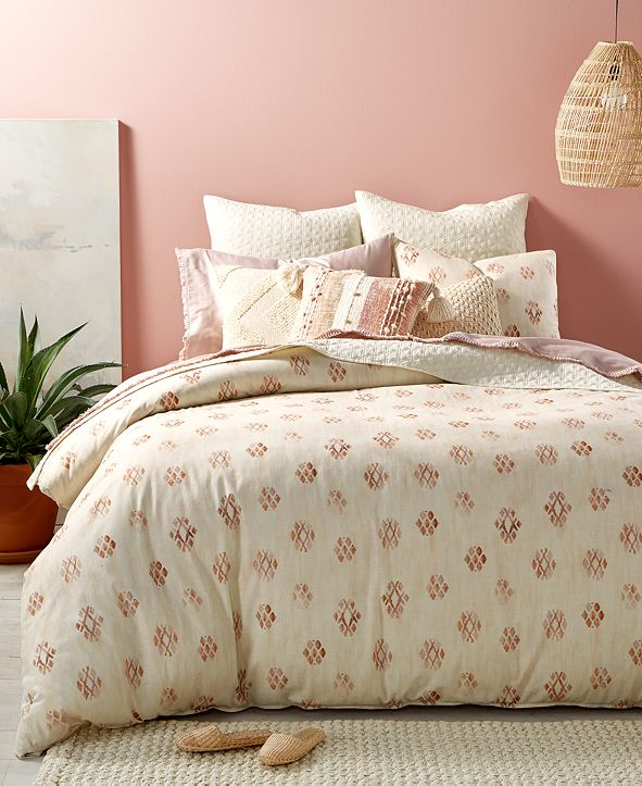 Lucky Brand  CLOSEOUT! Joshua Tree 3-Pc. Full/Queen Comforter Set, Created for Macy's