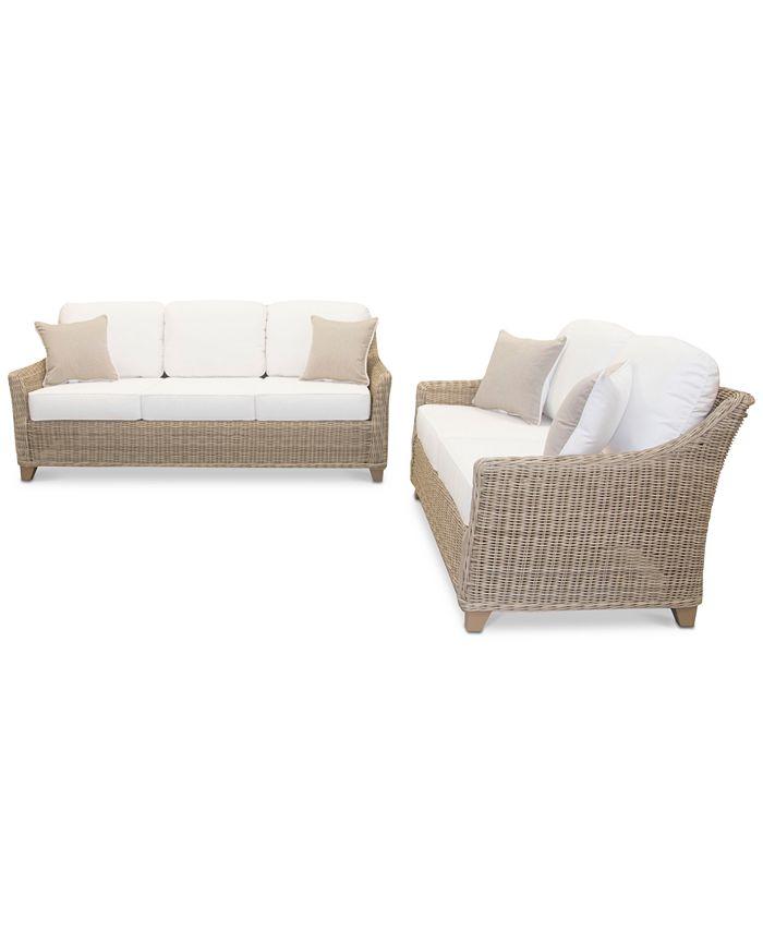 Furniture - Willough Outdoor 2-Pc. Set (1 Sofa & 1 Loveseat)