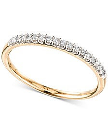 Diamond Band (1/10 ct. t.w.) in 14k Gold or Rose Gold, Created for Macy's