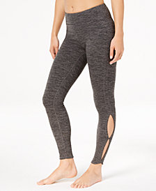 Gaiam Nola Peek-A-Boo Cutout Ankle Leggings