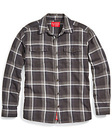 EMS® Men's Flannel Long-Sleeve Cotton Shirt