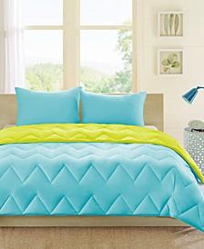 Trixie Reversible 3-Pc. Comforter Sets