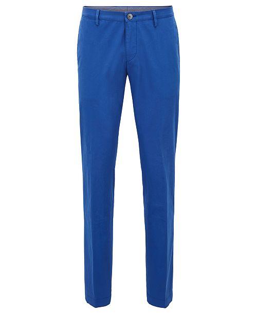 a073f675 Hugo Boss BOSS Men's Slim-Fit Stretch Chino Pants & Reviews - Pants ...