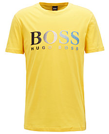 BOSS Men's Regular/Classic-Fit Logo-Graphic Cotton T-Shirt