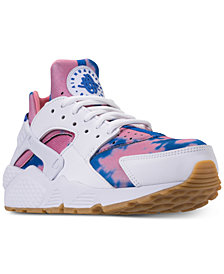 Nike Women's Air Huarache Run Print Running Sneakers from Finish Line