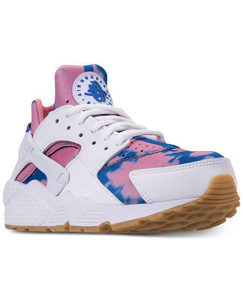 Nike Women's Air Huarache Run Print Running Sneakers from