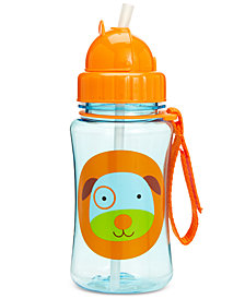 Skip Hop Dog Zoo Straw Water Bottle