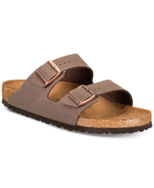 BIRKENSTOCK MEN'S ARIZONA BUCKLE SANDALS FROM FINISH LINE