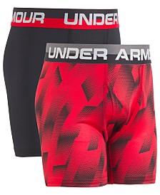 Under Armour Little & Big Boys 2-Pk. UA Original Boxerjocks