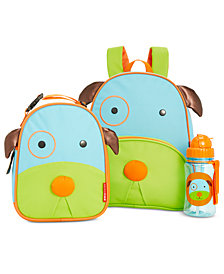 Skip Hop Dog Backpack, Lunch Bag & Water Bottle Separates