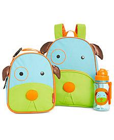 Skip Hop Dog Backpack, Lunch Bag & Water Bottle Separates