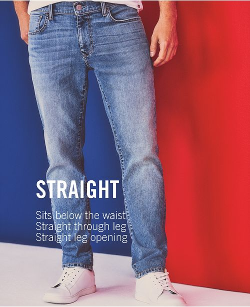 79f5ce96 ... Tommy Hilfiger Men's Straight-Leg Jeans, Created for Macy's ...