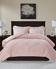 Ava 3-Pc. King/California King Comforter Set