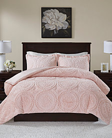 Madison Park Arya Reversible 3-Pc. Full/Queen Comforter Set