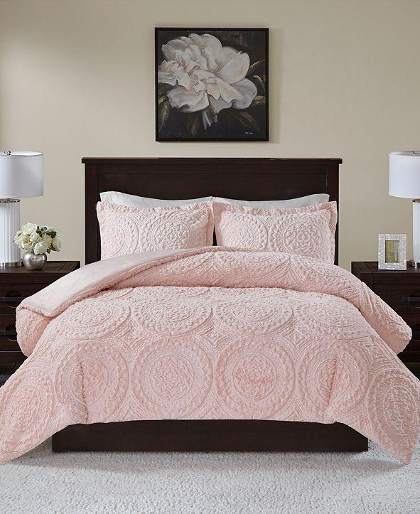 Madison Park Ava Reversible 3-Pc. Full/Queen Comforter Set