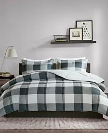 Madison Park Essentials Barrett Reversible 3-Pc. Comforter Sets