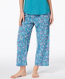 Charter Club Cotton Printed Pajama Pants, Created for Macy's