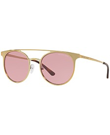 Michael Kors Sunglasses, GRAYTON MK1030 52