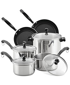 Classic Series 12-Pc. Stainless Steel Cookware Set