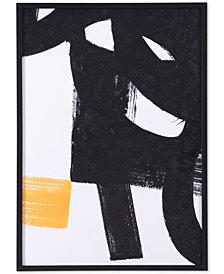 Zuo Sintesis Black & White Canvas Print