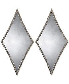 Gelston Silver Mirror, Set of 2